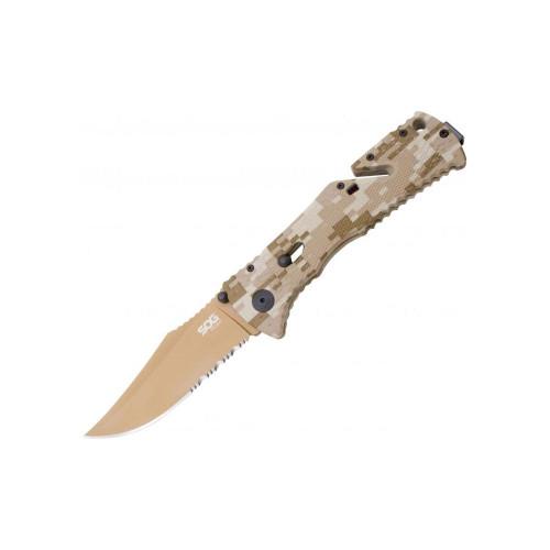 TRIDENT KNIFE DESERT CAMO COPPER