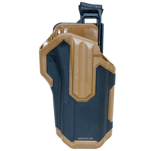 OMNIVORE LEVEL 2 RT HAND HOLSTER BLK TAN for $59.99 at MiR Tactical