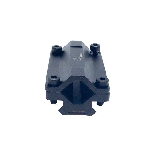 UNIVERSAL SINGLE RAIL BARREL MOUNT BLACK