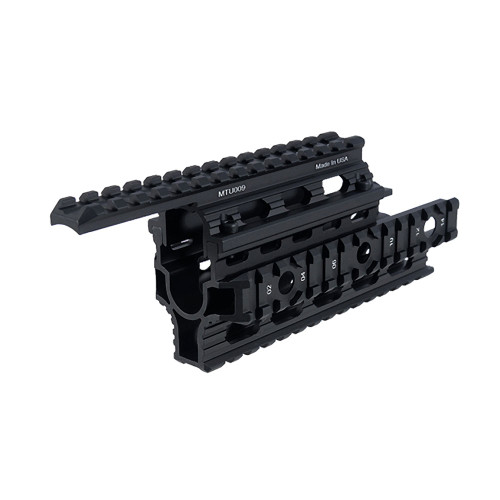 UNIVERSAL AK47 QUAD RAIL BLACK for $69.99 at MiR Tactical