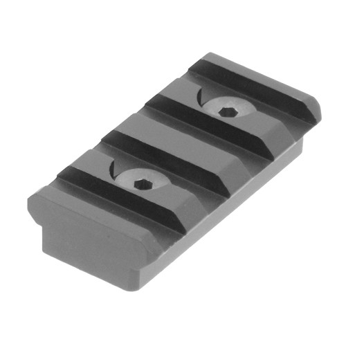 PRO 4-SLOT KEYMOD RAIL SECTION BLK for $17.99 at MiR Tactical