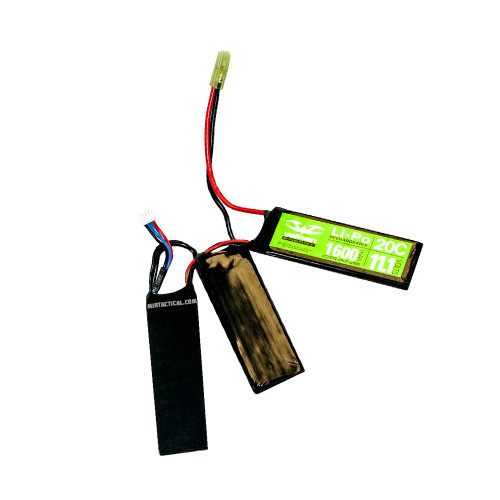 11.1V 1600MAH 20C SPLIT LIPO BATTERY for $39.99 at MiR Tactical