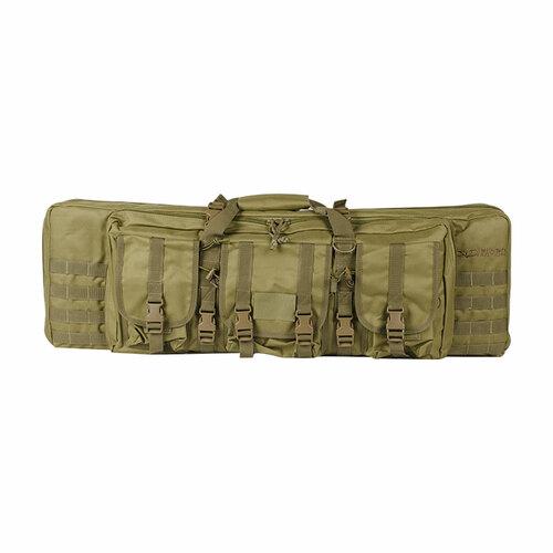 36 DOUBLE RIFLE TACTICAL GUN BAG TAN