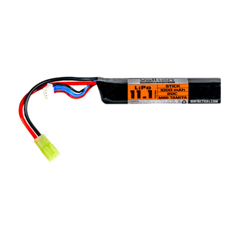 11.1 1000MAH 20C LIPO STICK BATTERY for $26.99 at MiR Tactical