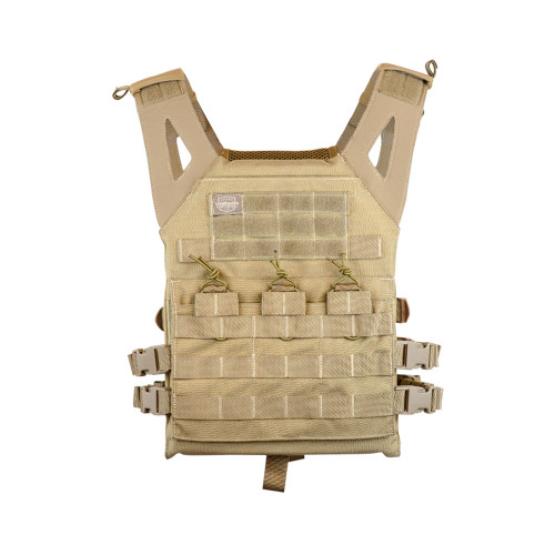 JPC STYLE PLATE CARRIER VERSION II TAN for $59.99 at MiR Tactical