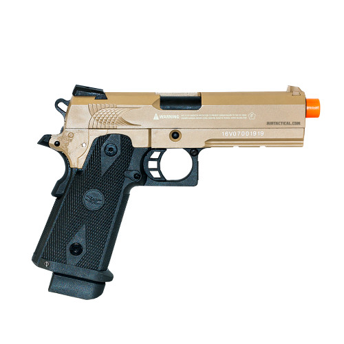 VALKEN 5.1' HI-CAPA GREEN GAS BLOWBACK AIRSOFT PISTOL - FDE for $149.99 at MiR Tactical
