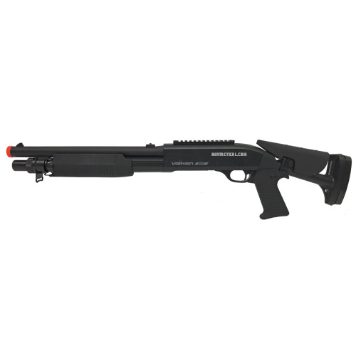 TRIPLE THREAT AIRSOFT SWAT SHOTGUN BLK