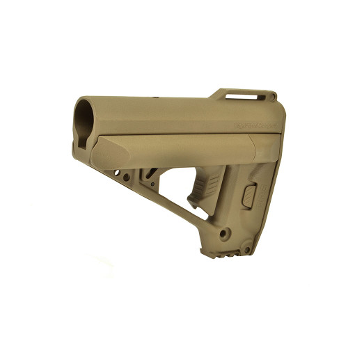 QUICK RESPONSE SYSTEM STOCK TAN for $41.99 at MiR Tactical