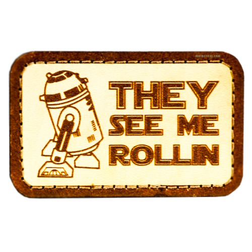 R2-D2 ROLLIN STAR WARS ONE VELCRO PATCH for $9.99 at MiR Tactical