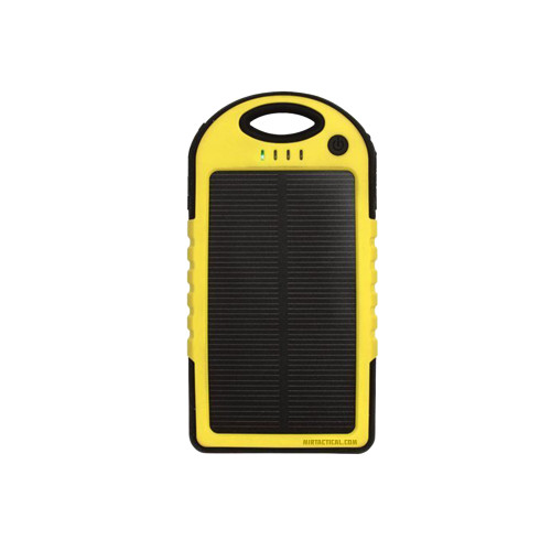 MIL-SPEC MSP LIFE SOLAR CHARGER BLK/YEL for $49.99 at MiR Tactical