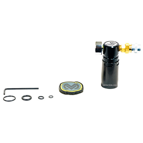 STORM ON TANK REGULATOR BLACK W/ LINE for $144.99 at MiR Tactical