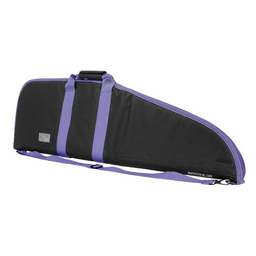 RIFLE CASE 36 INCHES BLACK W/ PURPLE TRIM for $22.99 at MiR Tactical