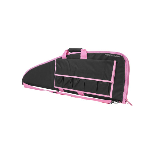 RIFLE CASE 36 INCHES BLACK W/ PINK TRIM for $22.99 at MiR Tactical