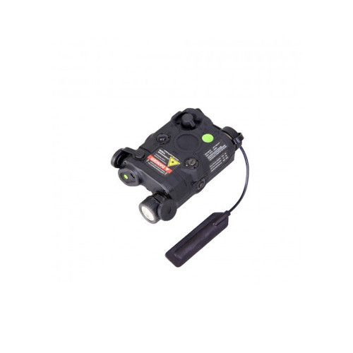 P15 FLASHLIGHT GREEN LASER COMBO BLACK