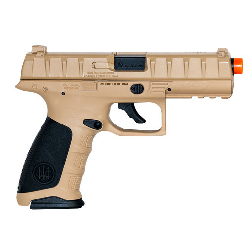 ELITE FORCE BERETTA APX CO2 GAS BLOWBACK AIRSOFT PISTOL - FDE for $79.95 at MiR Tactical