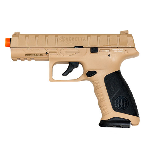 ELITE FORCE BERETTA APX CO2 GAS BLOWBACK AIRSOFT PISTOL - FDE