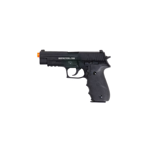 KWA M226-LE GREEN GAS BLOWBACK AIRSOFT PISTOL - BLACK