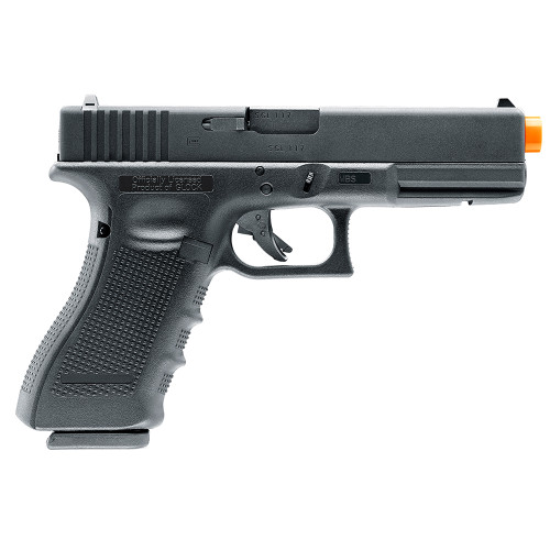 ELITE FORCE GLOCK 17 GEN 4 CO2 GAS BLOWBACK AIRSOFT PISTOL - BLACK for $169.95 at MiR Tactical