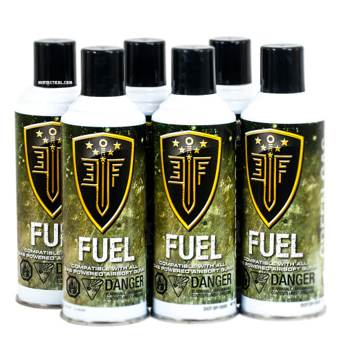 6 PACK PREMIUM AIRSOFT GREEN GAS for $64.99 at MiR Tactical