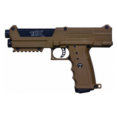 TIPX BASIC PAINTBALL MARKER PISTOL TAN for $228.95 at MiR Tactical