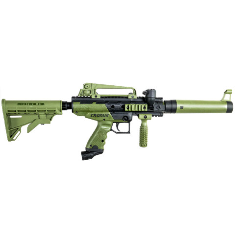 CRONUS TACTICAL PAINTBALL MARKER OLIVE for $129.99 at MiR Tactical