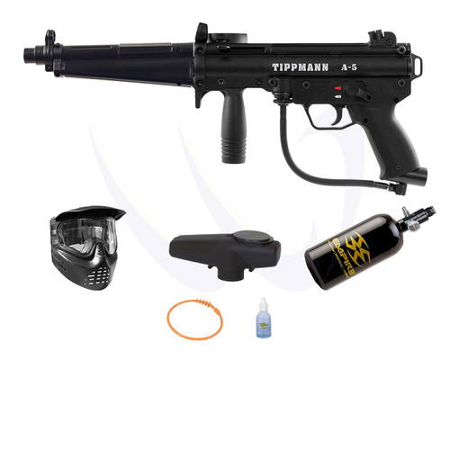 2010 A-5 FLATLINE PAINTBALL KIT