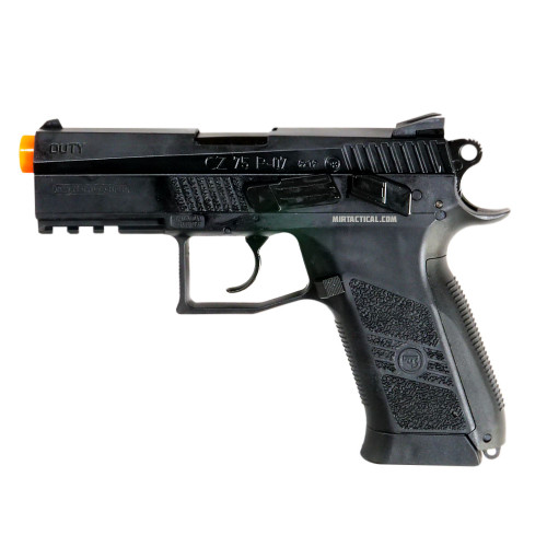 ASG CZ 75 P-07 DUTY CO2 GAS BLOWBACK PISTOL - BLACK