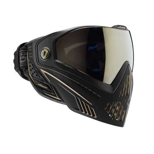 DYE I5 PAINTBALL MASK ONYX GOLD BLACK for $179.95 at MiR Tactical