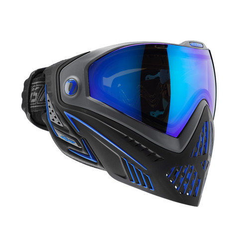 DYE I5 PAINTBALL MASK STORM BLACK BLUE for $179.95 at MiR Tactical