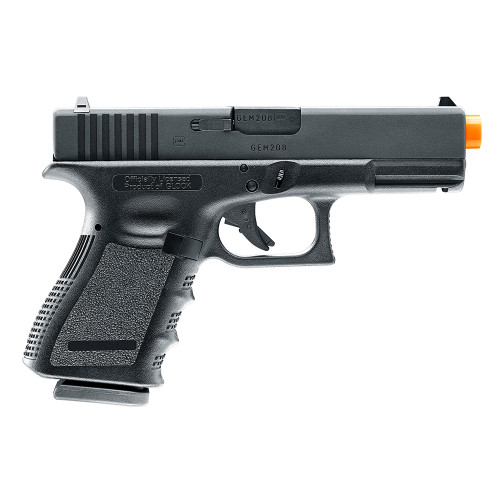 ELITE FORCE GLOCK 19 GEN 3 CO2 GAS BLOWBACK PISTOL - BLACK for $169.95 at MiR Tactical