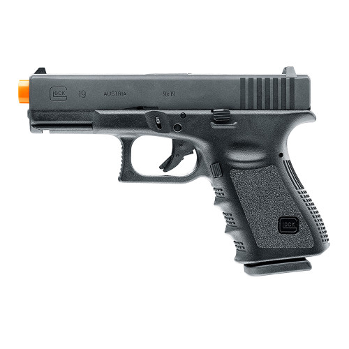 ELITE FORCE GLOCK 19 GEN 3 GAS BLOWBACK PISTOL - BLACK