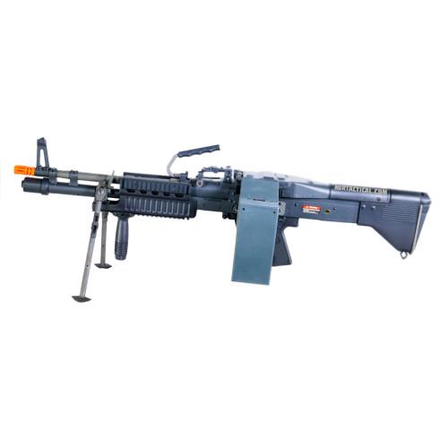 ASG U.S. ORDNANCE M60E4 MK43 COMMANDO AIRSOFT HMG AEG - BLACK