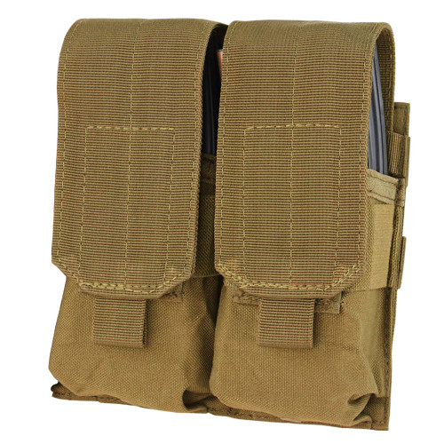 DOUBLE M4 MAG POUCH COYOTE