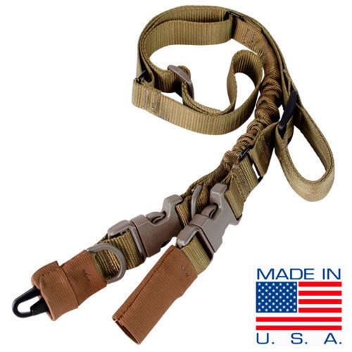 STRYKE SINGLE BUNGEE SLING COYOTE