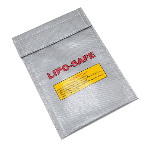 LIPO CHARGE PROTECTOR POUCH 7 X 9 for $7.99 at MiR Tactical