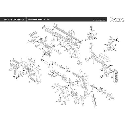 Kwa Airsoft Kriss Vector Diagram