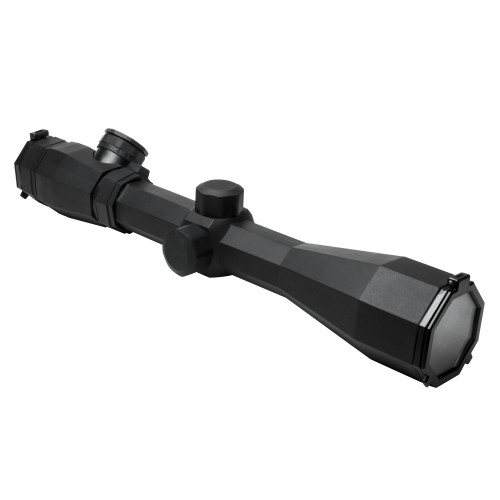 OCTAGON SCOPE 3-9X40 RUBBER ARMORED BLUE/RED