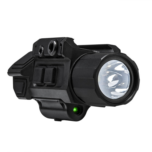 GEN3 PISTOL FLASHLIGHT W/STROBE AND GREEN LASER