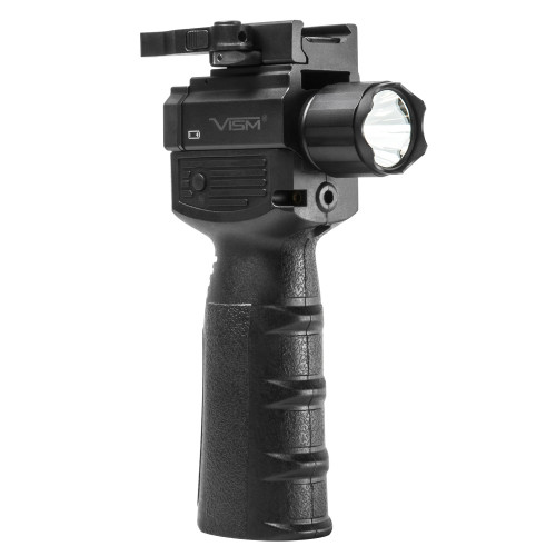 VERT GRIP W/STROBE FLASHLIGHT AND RED LASER for $89.99 at MiR Tactical