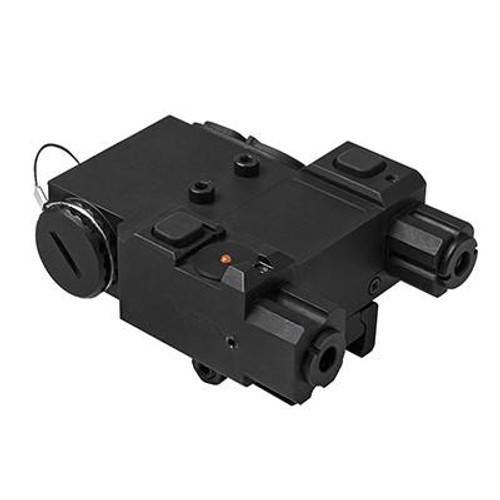 PEQ DESIGNATOR IR W/ GREEN LASER QR MOUNT for $89.99 at MiR Tactical