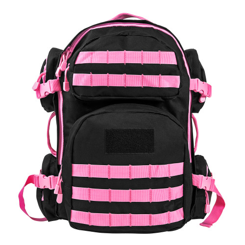 TACTICAL BACKPACK BLACK / PINK for $89.99 at MiR Tactical