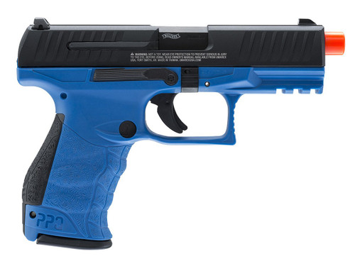UMAREX WALTHER PPQ M2 CO2 BLOWBACK AIRSOFT PISTOL - BLUE