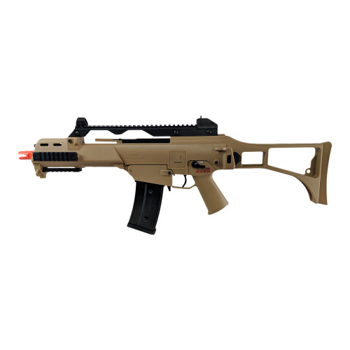 ELITE FORCE H&K G36C COMPETITION SERIES AIRSOFT SBR AEG - FDE