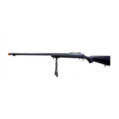 AIRSOFT SNIPER RIFLE BV7 W/ BIPOD BLACK