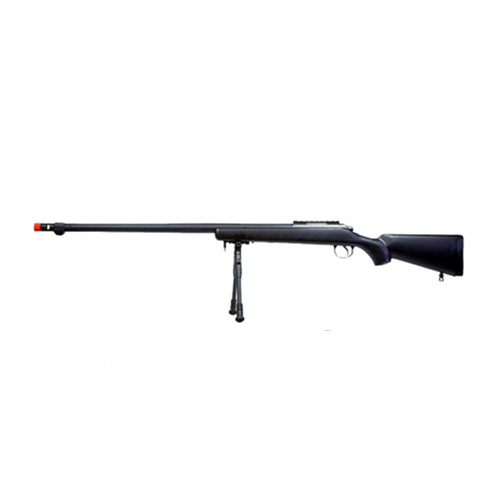 BRAVO BV7 BOLT ACTION AIRSOFT SNIPER RIFLE - BLACK for $119.95 at MiR Tactical
