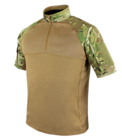 COMBAT SHIRT SHORT SLEEVE MULTICAM LARGE for $38.95 at MiR Tactical