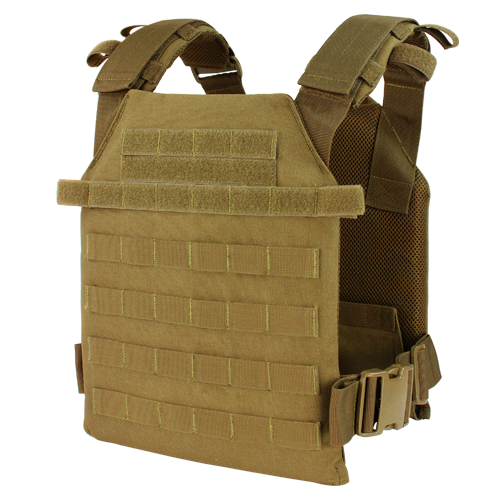 LCS SENTRY PLATE CARRIER COYOTE for $59.99 at MiR Tactical