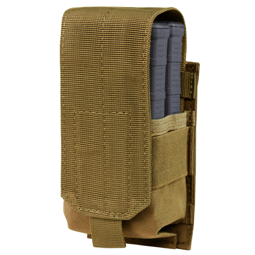 M14 STYLE SINGLE MAG POUCH GEN II COYOTE for $10.95 at MiR Tactical