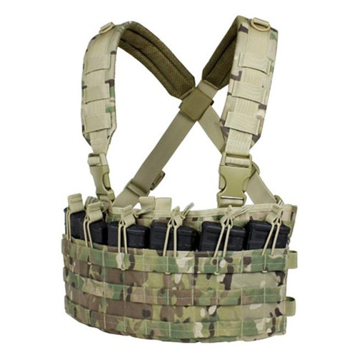 RAPID ASSAULT CHEST RIG MULTICAM for $44.95 at MiR Tactical