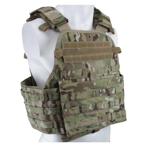 MODULAR OPERATOR PLATE CARRIER MULTICAM for $89.95 at MiR Tactical